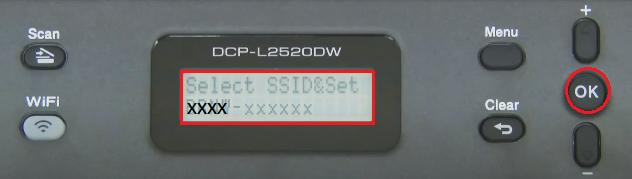 Choose network name