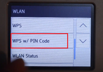 Brother WPS Pin Code