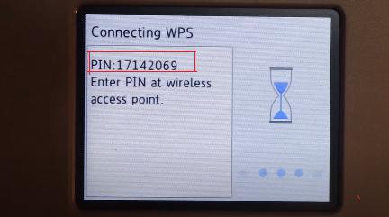 brother printer wps pin